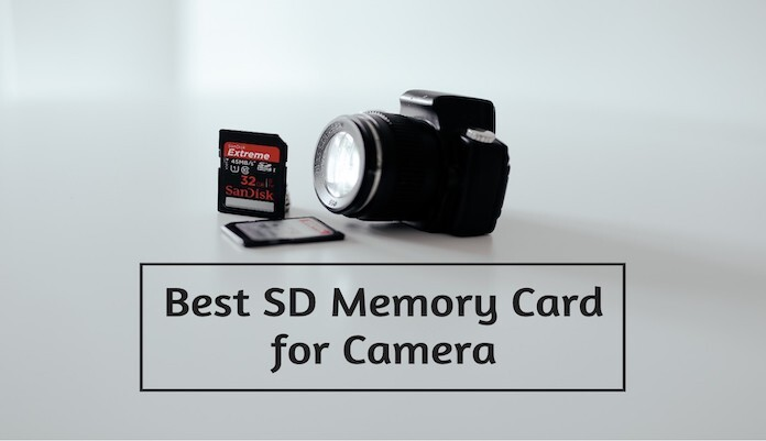SD Memory Card for camera